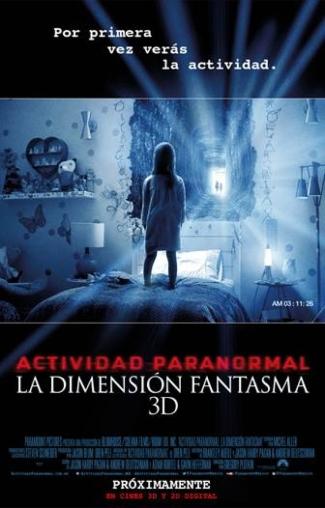 Actividad Paranormal: La Dimensión Fantasma
