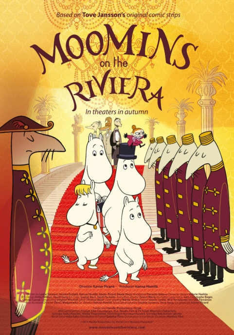 Moomin in the Riviera
