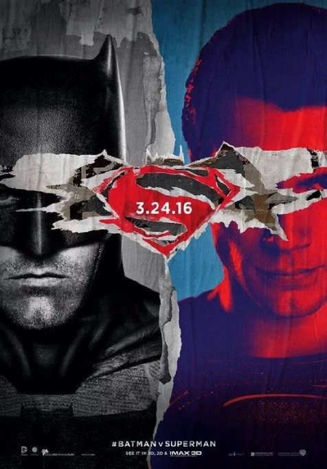 1. Batman v Superman: Dawn of Justice