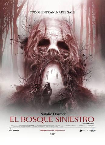 el bosque siniestro-poster