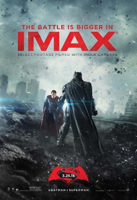 Imax BVS - poster