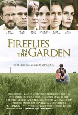 Firefly in the garden