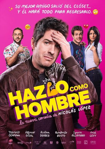 hazlocomohombre poster