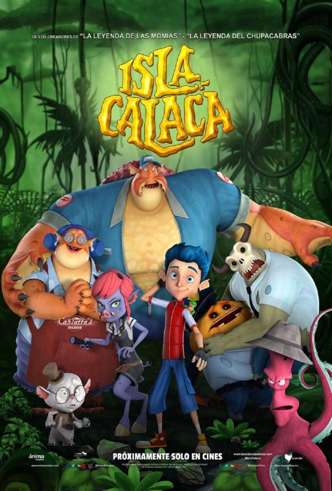 Isla Calaca Poster